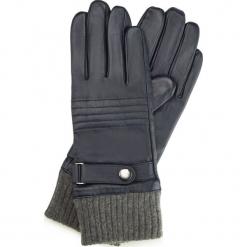 Rękawiczki męskie 39-6-705-GC. Brązowe rękawiczki męskie Wittchen, z polaru. Za 195,00 zł.