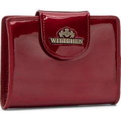 Mały Portfel Damski WITTCHEN - 25-1-362-3 Czerwony. Czerwone portfele damskie Wittchen, z lakierowanej skóry. W wyprzedaży za 219,00 zł.