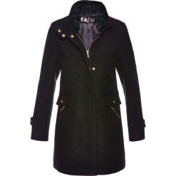 Płaszcze damskie: Płaszcz żakietowy z domieszką wełny bonprix czarny