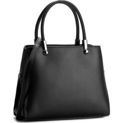 Torebka CREOLE - K10301  Czarny. Czarne torebki klasyczne damskie Creole, ze skóry, duże. W wyprzedaży za 249,00 zł.