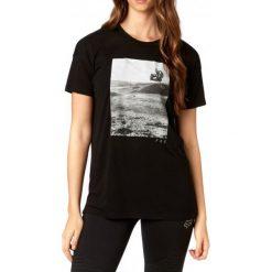 FOX T-Shirt Damski Picogram Ss Xs Czarny. Szare t-shirty damskie marki FOX, z bawełny. W wyprzedaży za 69,00 zł.