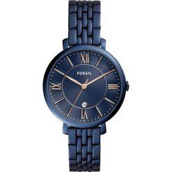 Zegarki damskie: Zegarek FOSSIL – Jacqueline ES4094 Blue/Blue