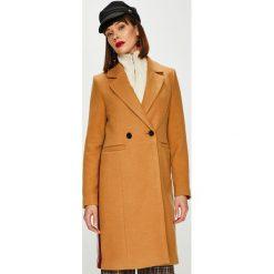 Vero Moda - Płaszcz Rambla. Brązowe płaszcze damskie marki Vero Moda, m, z elastanu, klasyczne. W wyprzedaży za 199,90 zł.