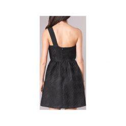 Sukienki krótkie Naf Naf  ECLAIR. Sukienki małe czarne marki NAF NAF, z krótkim rękawem. Za 367,20 zł.