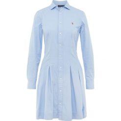 Polo Ralph Lauren PINPOINT OXFORD Sukienka koszulowa blue hyacinth. Czarne sukienki letnie marki Polo Ralph Lauren, polo. W wyprzedaży za 493,35 zł.