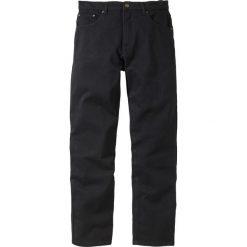 Dżinsy Classic Fit Straight bonprix czarny. Czarne jeansy męskie relaxed fit marki bonprix. Za 89,99 zł.