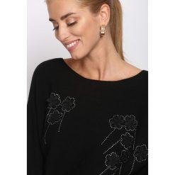 Swetry klasyczne damskie: Czarny Sweter Last Nite