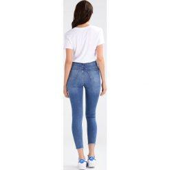 Even&Odd Jeans Skinny Fit blue denim. Niebieskie rurki damskie Even&Odd. Za 129,00 zł.