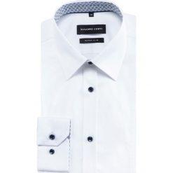 Koszula MICHELE KDBE000431. Białe koszule męskie na spinki marki bonprix, z klasycznym kołnierzykiem. Za 259,00 zł.