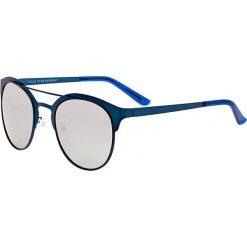"""Okulary przeciwsłoneczne męskie: Okulary męskie """"Phoenix"""" w kolorze morsko-srebrnym"""