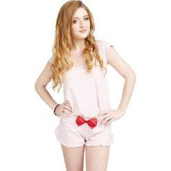 Piżamy damskie: Piżama w kolorze jasnoróżowym
