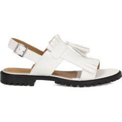 Sandały damskie: Białe sandały damskie