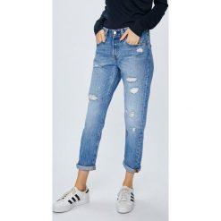 Levi's - Jeansy 301. Brązowe proste jeansy damskie marki Levi's®, z obniżonym stanem. Za 399,90 zł.