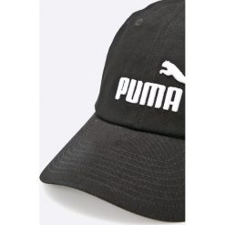 Puma - Czapka. Szare czapki z daszkiem męskie Puma, z bawełny. W wyprzedaży za 49,90 zł.