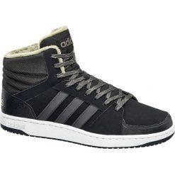 Buty męskie adidas Va Hoops Mid Wtr adidas czarne. Czarne buty sportowe męskie Adidas, z gumy. Za 279,90 zł.
