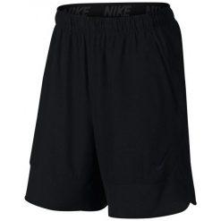 """Nike Spodenki Treningowe Flex 8"""" 742242 010 Xl. Czarne spodenki sportowe męskie Nike, l, z tkaniny, na fitness i siłownię. W wyprzedaży za 139,00 zł."""