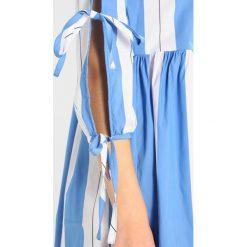 Sukienki hiszpanki: Rich & Royal STRIPED Sukienka letnia pastel blue