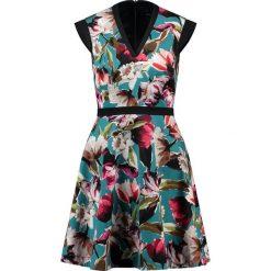 Sukienki hiszpanki: Karen Millen PAINTERLY FLORAL Sukienka letnia multicolor