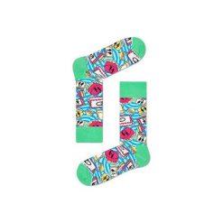 Skarpetki Happy Socks X Steve Aoki AOK01-6000. Szare skarpetki męskie Happy Socks, z bawełny. Za 30,01 zł.