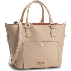 Torebka NOBO - NBAG-E0080-C015 Beżowy. Brązowe torebki klasyczne damskie marki Nobo, ze skóry ekologicznej. W wyprzedaży za 139,00 zł.
