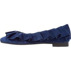 Baleriny damskie lakierowane: Stylesnob GRAY  Baleriny blue