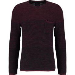 Swetry klasyczne męskie: Blend Sweter wine red