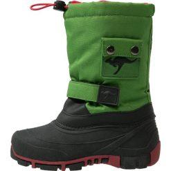 KangaROOS KANGABEAN 2007 Śniegowce green/red. Niebieskie buty zimowe damskie marki KangaROOS. W wyprzedaży za 149,25 zł.