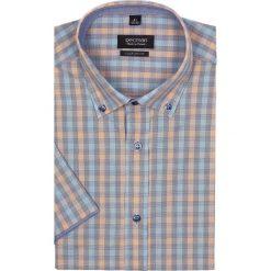 Koszula bexley 2301 krótki rękaw custom fit pomarańczowy. Czarne koszule męskie na spinki marki TOM TAILOR DENIM, l, z bawełny, button down, z długim rękawem. Za 29,99 zł.