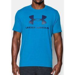 Under Armour Koszulka męska CC Sportstle Logo Niebieska r. S (1257615-899). Niebieskie koszulki sportowe męskie marki Under Armour, m. Za 89,10 zł.