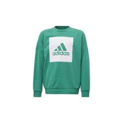 Swetry Dziecko adidas  Bluza Essentials Big Logo Sweatshirt. Zielone bluzy dziewczęce marki Adidas. Za 149,00 zł.