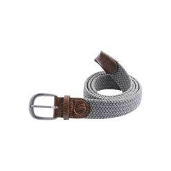 Pasek do spodni do golfa 500 rozmiar 1. Szare paski damskie marki INESIS, w paski, z materiału. Za 39,99 zł.