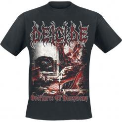 Deicide Overtures Of Blasphemy T-Shirt czarny. Czarne t-shirty męskie Deicide, xl. Za 74,90 zł.
