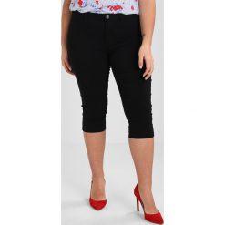 Junarose JRQUEEN SLIM KNICKERS Szorty jeansowe black. Czarne rurki damskie Junarose, z elastanu. Za 169,00 zł.