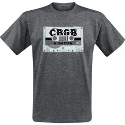 T-shirty męskie: CBGB Cassette T-Shirt odcienie szarego