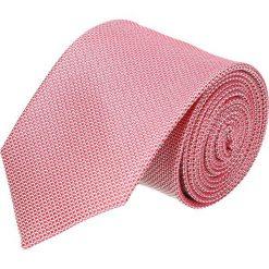 Krawaty męskie: krawat platinum róż classic 212