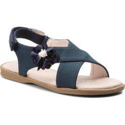 Sandały dziewczęce: Sandały NELLI BLU – CM170502-6 Granatowy