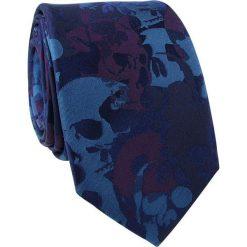 Krawat jewabny KWGR000219. Niebieskie krawaty męskie marki Giacomo Conti. Za 129,00 zł.
