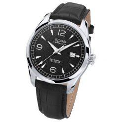 ZEGAREK EPOS Passion 3401.132.20.55.25. Czarne zegarki męskie EPOS, ze stali. Za 4900,00 zł.