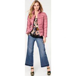 Odzież damska: Kurtka puchowa w kolorze brudnego różu
