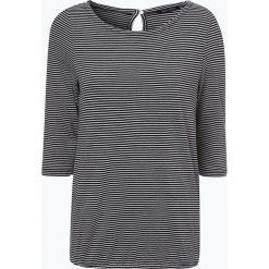 Marc O'Polo - Koszulka damska, czarny. Czarne t-shirty damskie Marc O'Polo, l, w paski, polo. Za 269,95 zł.