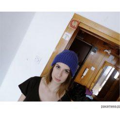 Czapka Rybaka - Chabrowy. Niebieskie czapki damskie Pakamera. Za 139,00 zł.