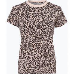 T-shirty damskie: Review – T-shirt damski, brązowy