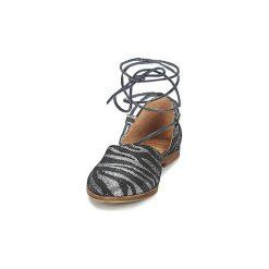 Sandały Coqueterra  BICHONA. Czarne sandały damskie Coqueterra, z kauczuku. Za 321,30 zł.