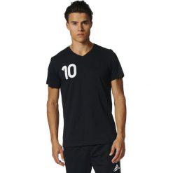 Adidas Koszulka męska Tango Tee  czarna r. L (AZ9719). Czarne koszulki sportowe męskie Adidas, l. Za 119,27 zł.