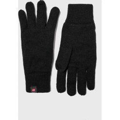 Jack & Jones - Rękawiczki. Czarne rękawiczki męskie marki Jack & Jones, l, z bawełny, z klasycznym kołnierzykiem, z długim rękawem. Za 89,90 zł.
