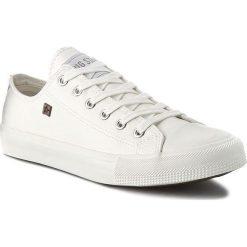 Trampki BIG STAR - V174347 White. Białe trampki męskie BIG STAR, z gumy. Za 99,00 zł.