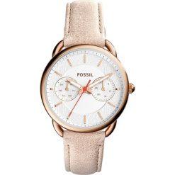 Zegarek FOSSIL - Tailor ES4007  Light Brown/Rose Gold. Różowe zegarki damskie marki Fossil, szklane. W wyprzedaży za 499,00 zł.