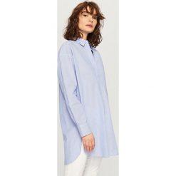 Koszula oversize - Niebieski. Niebieskie koszule damskie marki Reserved. W wyprzedaży za 39,99 zł.
