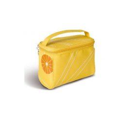 Kosmetyczki damskie: Donegal DONEGAL KOSMETYCZKA damska żółta kuferek  4955 – 274955