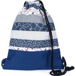 Plecaki damskie: Art of Polo Plecak Adventure granatowo-biały (tr18177)